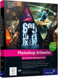 Photoshop Artworks - Die Tricks der Photoshop-Profis, Best.Nr. GP-2600, € 39,90