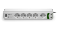 APC SurgeArrest Essential 5 mit 2 USB Charger (PM5U-GR), Best.Nr. APC-172, € 23,95