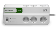 APC SurgeArrest Essential 6 mit 2 USB Charger (PM6U-GR), Best.Nr. APC-175, € 31,95