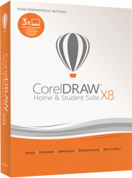 CorelDRAW Home & Student Suite X8, Best.Nr. CO-316, € 83,95