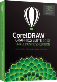 CorelDRAW Graphics Suite 2018 Small Business Edition, EAN: 735163152852, Best.Nr. CO-364, erschienen 06/2018, € 769,00