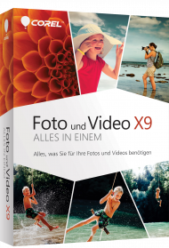 Corel Foto und Video X9 - Alles in einem (Download), Best.Nr. COO317, € 78,95