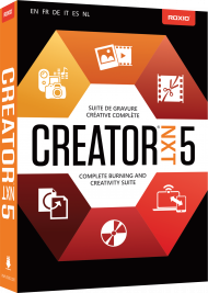 Roxio Creator NXT 5 (Download), Best.Nr. COO318, € 59,95