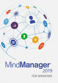 MindManager 2019 für Windows - Upgrade (Download), Best.Nr. COO381, erschienen 10/2018, € 209,00