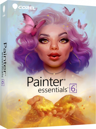 Corel Painter Essentials 6 (Download) - Zeichnen, Malen und Skizzieren - Windows und Mac (64-Bit) /   ,