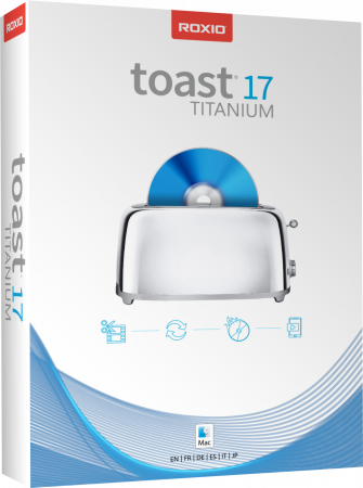 Roxio Toast 17 Titanium (Download) - Das ultimative Digitalmedien-Toolkit für Ihren Mac /   ,