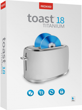 Roxio Toast 18 Titanium - Das ultimative Digitalmedien-Toolkit für Ihren Mac /   ,