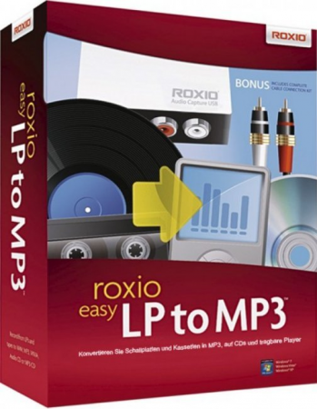 Roxio Easy LP to MP3 - Konvertieren Sie Schallplatten und Kassetten in MP3 /   ,
