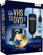 Roxio Easy VHS to DVD 3 Plus, EAN: 0687967132793, Best.Nr. SO-2477, erschienen 03/2012, € 49,95
