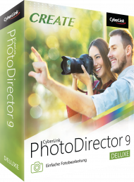 CyberLink PhotoDirector 9 Deluxe für Windows, Best.Nr. CY-270, € 39,95