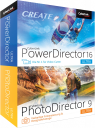 CyberLink Ultra Duo PhotoDirector9 & PowerDirector16, Best.Nr. CY-271, € 99,00