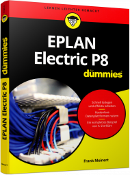 EPLAN Electric P8 für Dummies, ISBN: 978-3-527-71320-2, Best.Nr. WL-71320, erschienen 11/2016, € 24,99