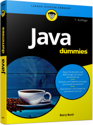 Java für Dummies, ISBN: 978-3-527-71364-6, Best.Nr. WL-71364, erschienen 09/2017, € 19,99