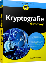 Kryptografie für Dummies, ISBN: 978-3-527-71457-5, Best.Nr. WL-71457, erschienen 08/2018, € 24,99