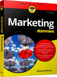 Marketing für Dummies, ISBN: 978-3-527-71483-4, Best.Nr. WL-71483, erschienen 09/2018, € 22,99