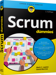 Scrum für Dummies, ISBN: 978-3-527-71598-5, Best.Nr. WL-71598, erschienen 02/2019, € 24,99
