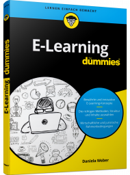 E-Learning für Dummies, ISBN: 978-3-527-71617-3, Best.Nr. WL-71617, erschienen 04/2020, € 17,00
