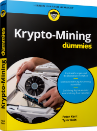 Krypto-Mining für Dummies, ISBN: 978-3-527-71663-0, Best.Nr. WL-71663, erschienen 04/2020, € 27,00