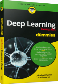 Deep Learning kompakt für Dummies, ISBN: 978-3-527-71687-6, Best.Nr. WL-71687, erschienen 05/2020, € 25,00