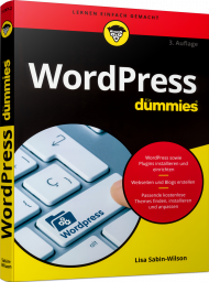 WordPress für Dummies, ISBN: 978-3-527-71797-2, Best.Nr. WL-71797, erschienen 10/2020, € 20,00