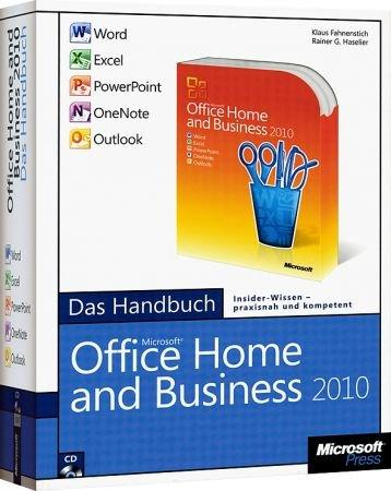 microsoft office home and business 2010 das handbuch word excel powerpoint outlook. Black Bedroom Furniture Sets. Home Design Ideas