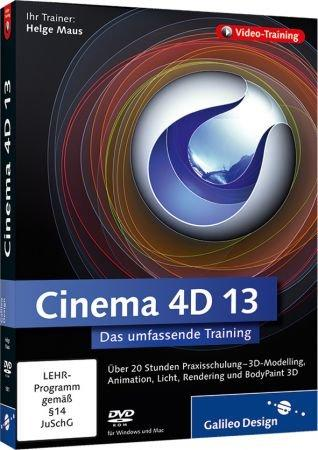 Cinema 4D 13 - Video-Training - 3D-Modelling, Animation, Licht, Rendering und BodyPaint 3D / Trainer:  , 978-3-8362-1801-6
