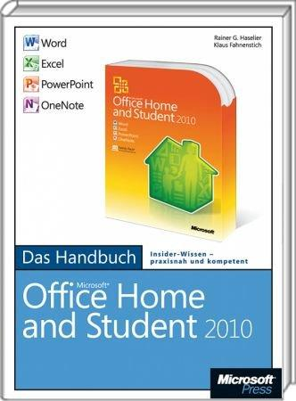 microsoft office home and student 2010 das handbuch word excel powerpoint onenote 978 3. Black Bedroom Furniture Sets. Home Design Ideas