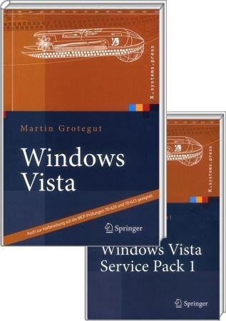 Bundle: Windows Vista Power Pack - Vorbereitung auf die MCP-Pr�fungen 70-620, -623 & Infos zu SP1 / Autor:  Grotegut, Martin, 978-3-540-78957-4