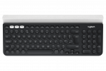 Logitech K780 Multi-Device Wireless Keyboard - dunkelgrau/weiß