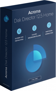 Acronis Disk Director 12.5 (Box), Best.Nr. AC-490, erschienen 03/2019, € 26,99