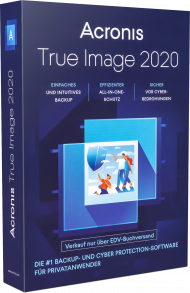 True Image 2020 Advanced - 5 PC/MAC, 1 Jahr 250GB Box, Best.Nr. AC-507, erschienen 08/2019, € 79,99