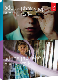 Adobe Photoshop & Premiere Elements 14 f�r Win & Mac, Best.Nr. AD-263932, € 109,95