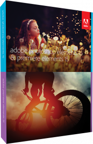 Adobe Photoshop & Premiere Elements 15 für Win & Mac, Best.Nr. AD-273580, € 119,95