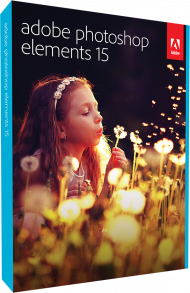 Upgrade Adobe Photoshop Elements 15 für Windows und Mac, Best.Nr. AD-273826, € 69,95