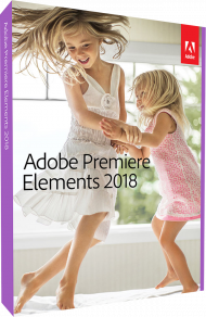 Adobe Premiere Elements 2018 für Windows und Mac, Best.Nr. AD-281783, erschienen 10/2017, € 79,95
