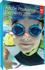 Adobe Photoshop Elements 2019 für Windows und Mac, EAN: 5051254647119, Best.Nr. AD-292216, erschienen 10/2018, € 79,95