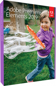 Upgrade Adobe Premiere Elements 2019 für Windows und Mac, EAN: 5051254647898, Best.Nr. AD-292589, erschienen 10/2018, € 69,95