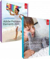 Adobe Photoshop & Premiere Elements 2020 für Win & Mac, EAN: 5051254650379, Best.Nr. AD-298916, erschienen 10/2019, € 119,95