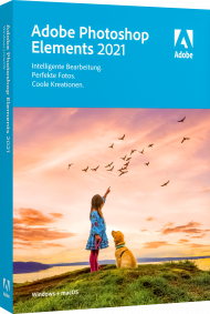 Adobe Photoshop Elements 2021 für Windows und Mac, EAN: 5051254655473, Best.Nr. AD-312876, erschienen 10/2020, € 84,95