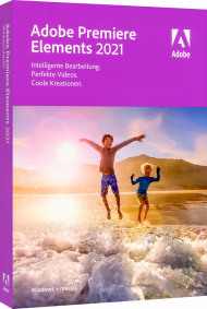 Upgrade Adobe Premiere Elements 2021 für Windows und Mac, EAN: 5051254655633, Best.Nr. AD-312942, erschienen 10/2020, € 69,95