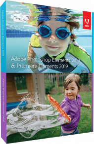 Adobe Photoshop & Premiere Elements 2019 für Windows (Download), Best.Nr. ADO295903, erschienen 10/2018, € 119,95