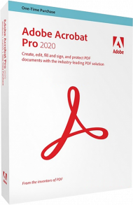 Adobe Acrobat Pro 2020 für Mac (Download), Best.Nr. ADO310994, erschienen 06/2020, € 629,00
