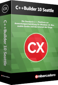 C++Builder 10 Seattle Professional Edition - UPG, Best.Nr. CGO721, € 772,31