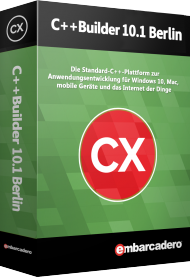 C++Builder 10.1 Berlin Prof. inkl Mobile Addon Pack, Best.Nr. CGO817, € 1.783,81