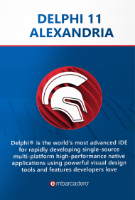 Delphi 10.3 Rio Prof. inkl. 36 Monate Update Subscription, Best.Nr. CGO900, erschienen 11/2018, € 1.902,81