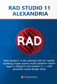 RAD Studio 10.4 Enterprise inkl. 1 Jahr Subscription, Best.Nr. CGO907, erschienen 11/2018, € 5.532,31