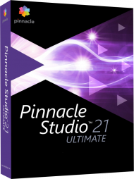 Pinnacle Studio 21 Ultimate, EAN: 0735163151473, Best.Nr. CO-343, erschienen 08/2017, € 99,95