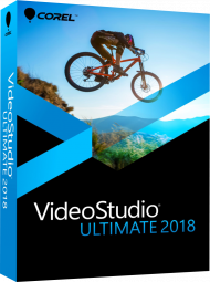 Corel VideoStudio Ultimate 2018, EAN: 0735163152173, Best.Nr. CO-355, erschienen 02/2018, € 69,95