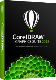 CorelDRAW Graphics Suite 2018 - Upgrade, EAN: 0735163152296, Best.Nr. CO-358, erschienen 05/2018, € 319,00