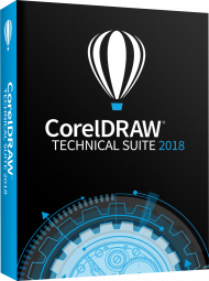 CorelDRAW Technical Suite 2018, EAN: 0735163153071, Best.Nr. CO-365, erschienen 08/2018, € 819,00